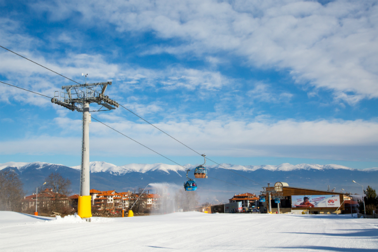 Bansko (pictured) holidays are a feature of Balkan's 2021/22 ski programme