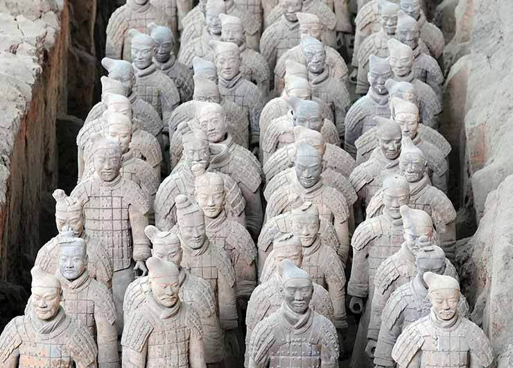 Terracotta Soldiers Xian China