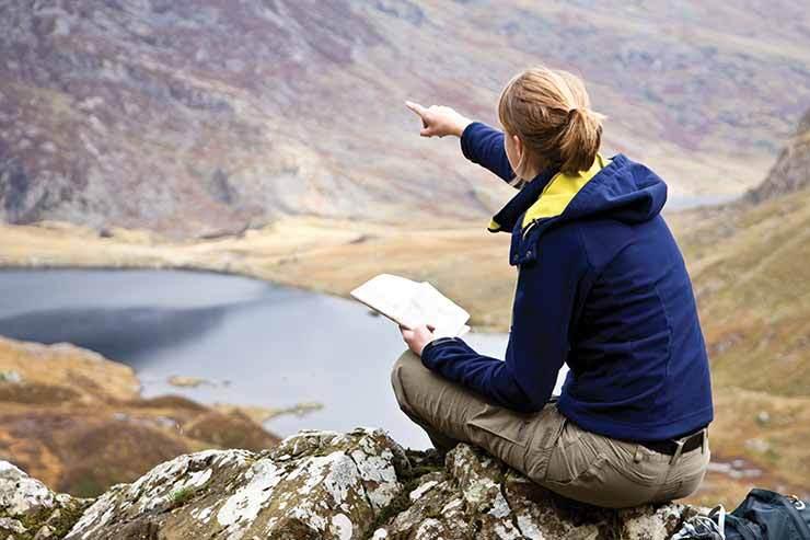 Tour guide mountains Scotland orienteering