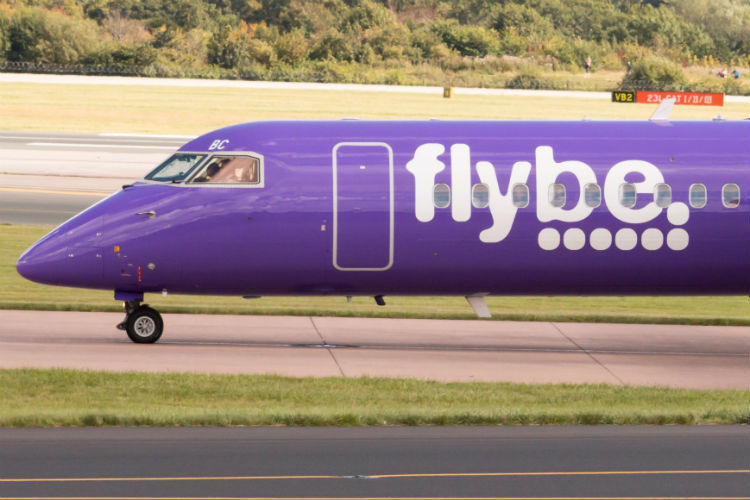 Flybe is reported to be at risk of collapse