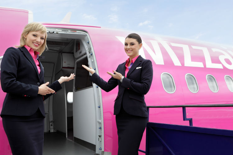 Wizz Air crew will be welcoming passengers at Doncaster Sheffield this winter