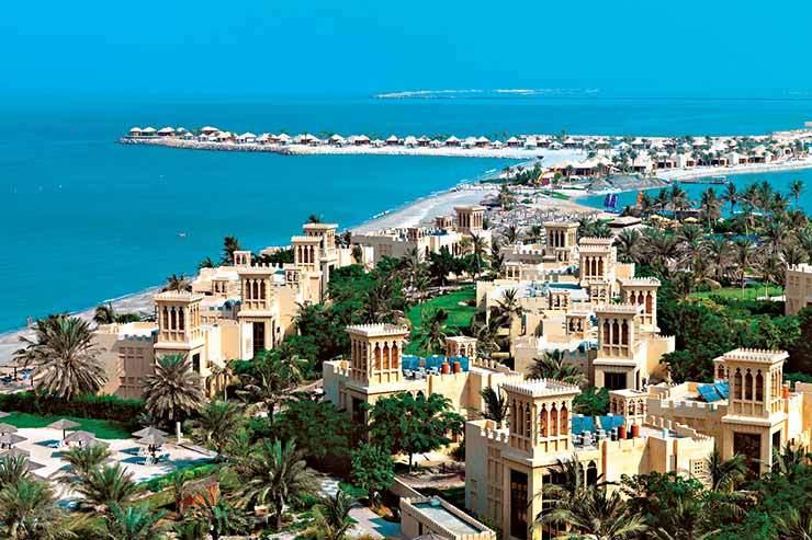 Ras Al Khaimah's coastline