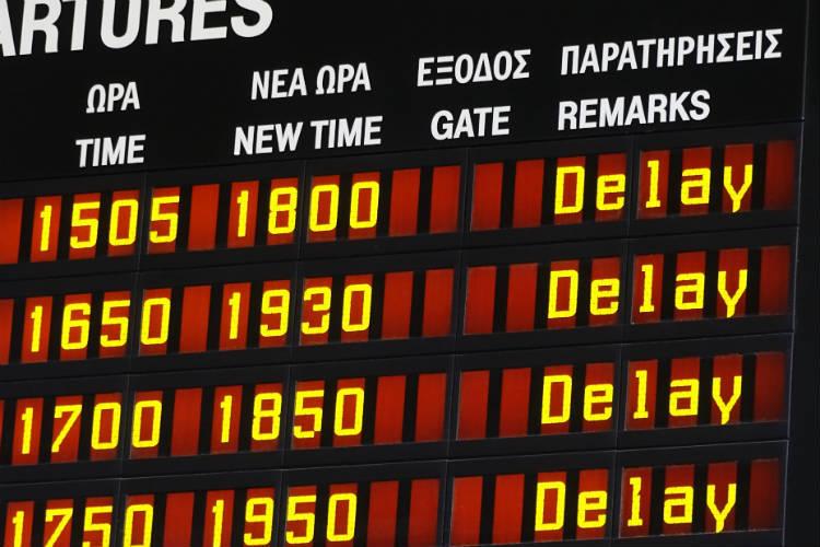 Greece, flight delay, strike