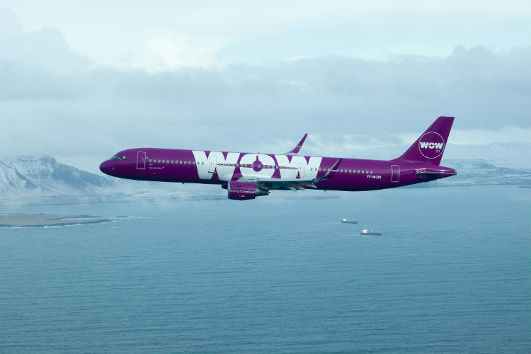 Wow air unveils new US destinations