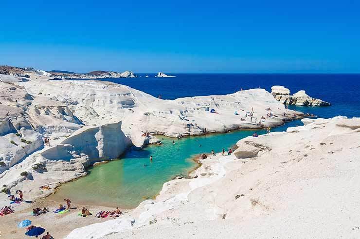 Olympic Holidays Milos Greece