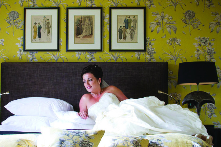 How Tracie scored a wedding-related hat-trick!