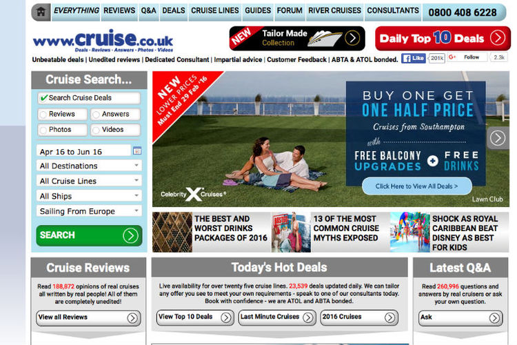 Cruise.co.uk MD confirms sale as it seeks new acquisitions