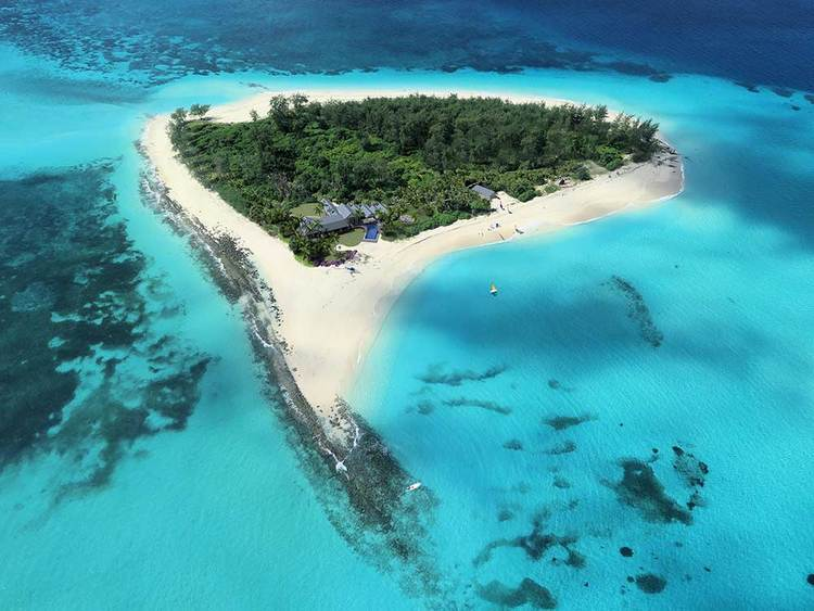 The world's newest private island resort
