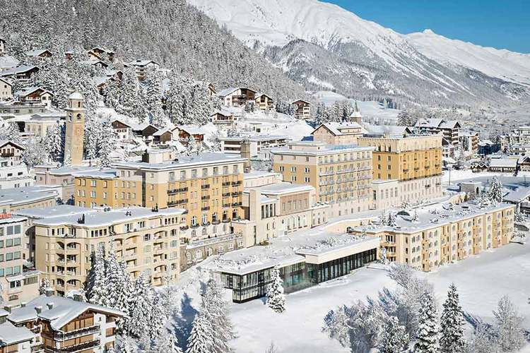 Lord Foster to redesign St Moritz hotel