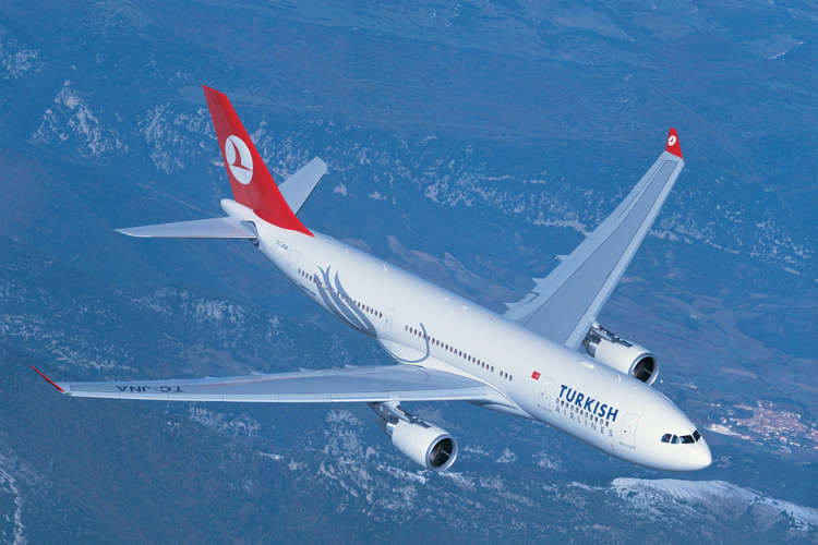 Turkish Airlines will increase capacity on its Gatwick-Antalya route