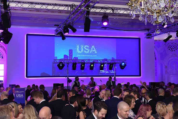 Brand USA party