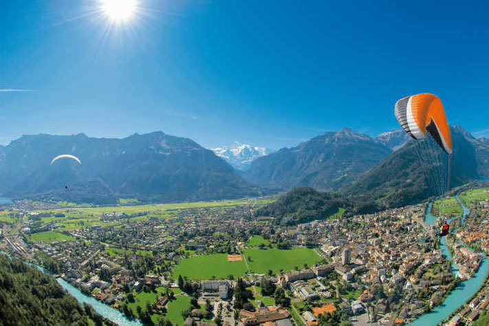 Win one of three stays in Interlaken