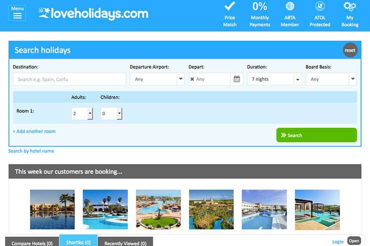 Loveholidays ranked second in 'fastest-growing UK companies' list