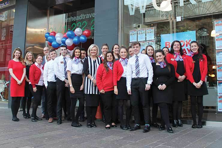 Barrhead goes on Glasgow recruitment drive