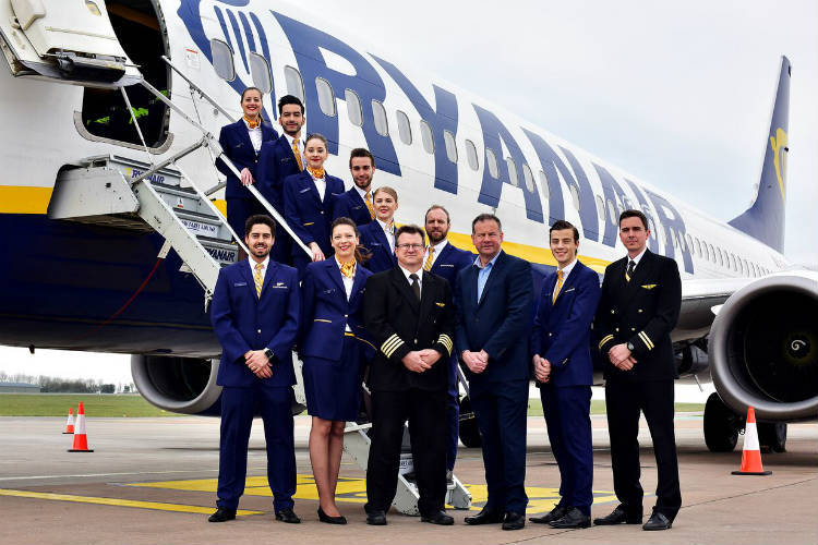 Ryanair adds Bristol winter routes