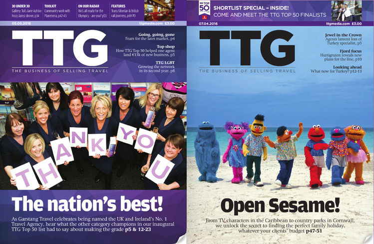 Resubscribe to TTG to continue receiving your magazine