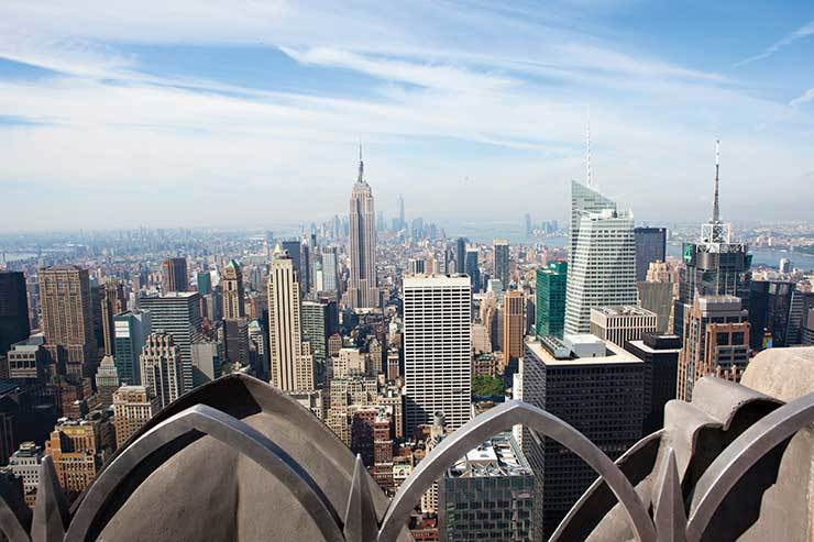 New York City top of the rock