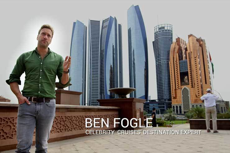 Celebrity Cruises and Ben Fogle's top tips for selling Abu Dhabi