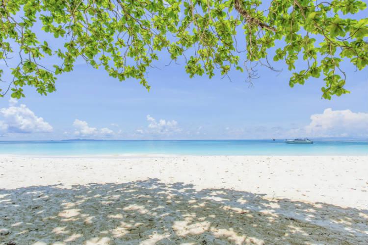 Koh Tachai Thailand beach