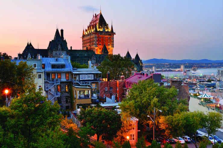 Adventuring in stunning Quebec