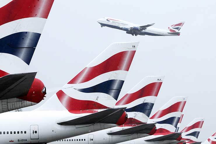 BA reveals strike contingency plans