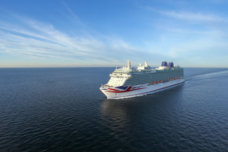 P&O Cruises extends cancellations until early 2021