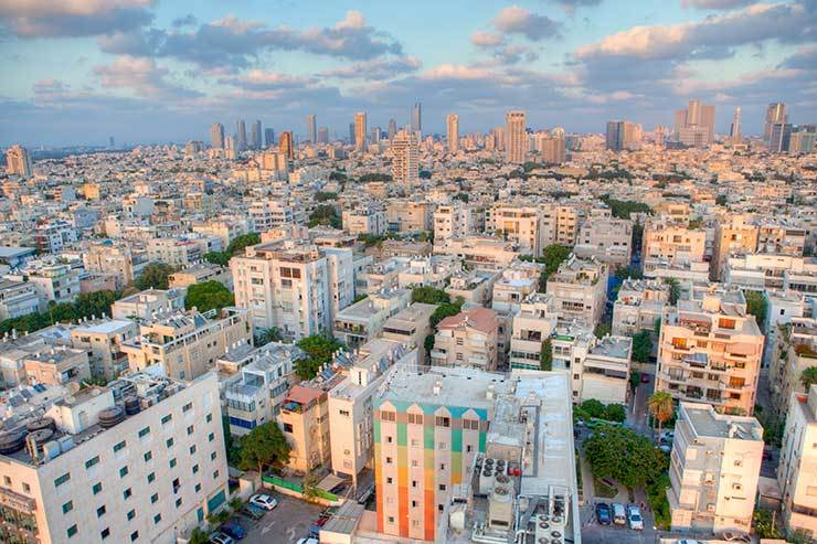 Israel will reopen to groups of vaccinated tourists from 23 May (Pictured: Tel Aviv)