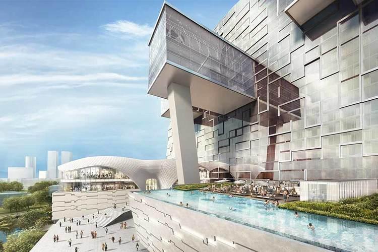 Futuristic hotel design arrives in Colombo