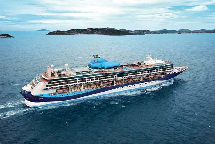 Tui Group to incorporate Covid test into cruise packages