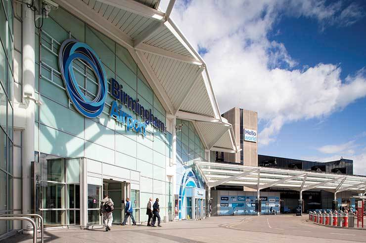 Birmingham airport to become net zero carbon by 2033