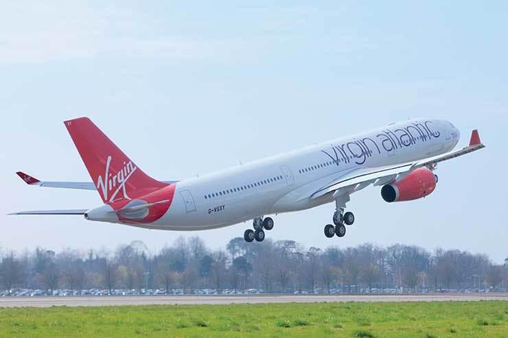 Virgin Atlantic A330 take-off