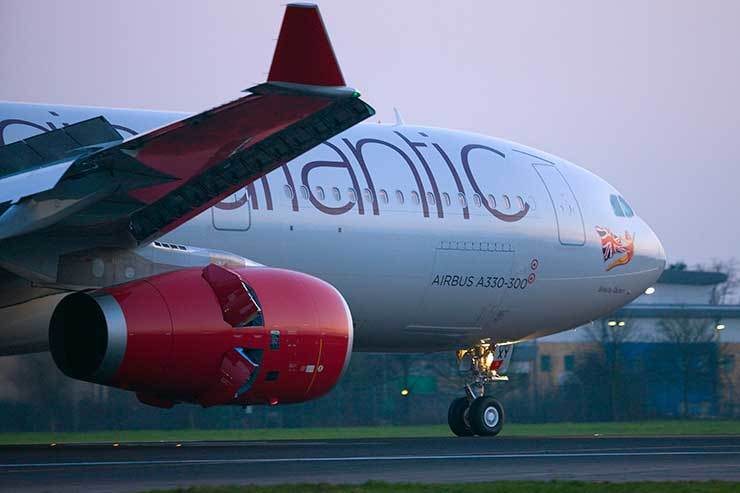 New aircraft help Virgin Atlantic to slash carbon emissions