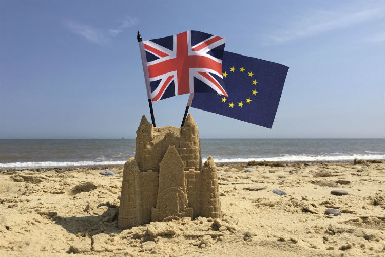 Brexit beach, referendum, European Union