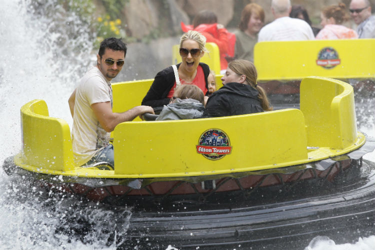 Alton Towers Rapids