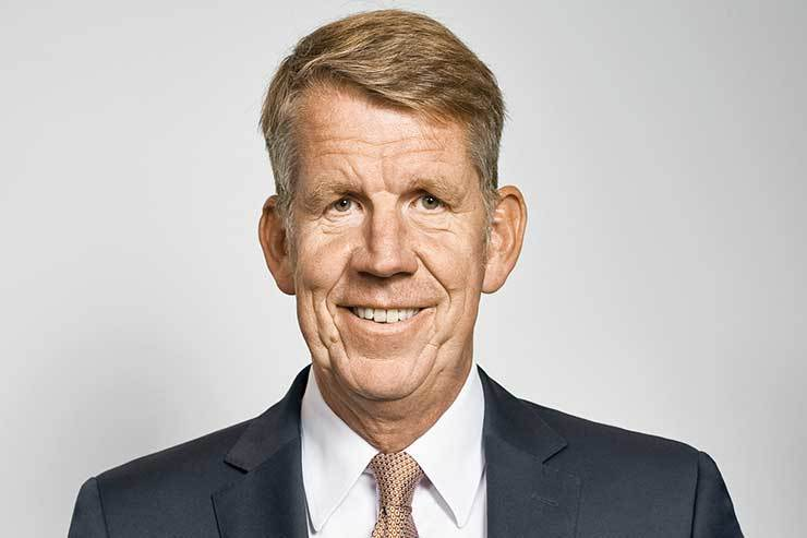Tui's Fritz Joussen said the financial package 'provides security' for the company