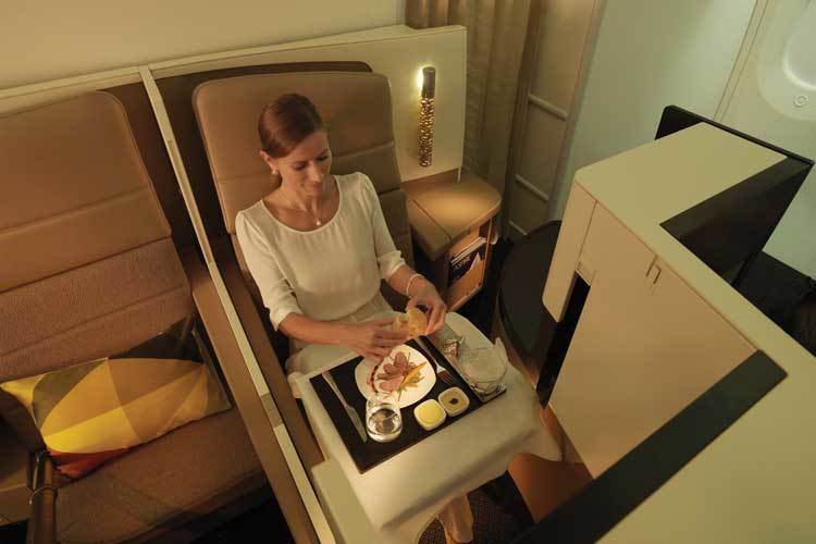 Etihad's business studios reviewed