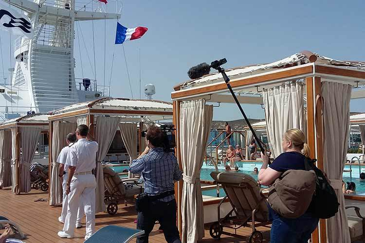 Behind the scenes of ITV documentary The Cruise