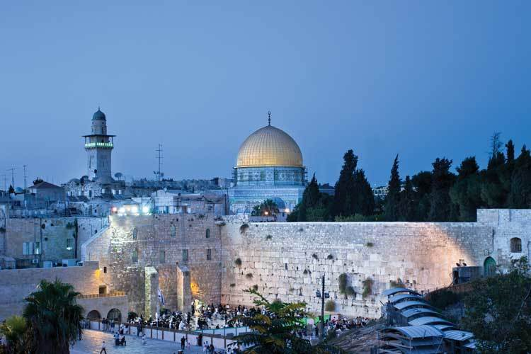 Jerusalem---Dome-&-Western-Wall-Evening.jpg