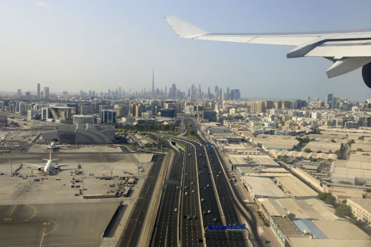 Dubai airport suspends flights after 'drone activity'