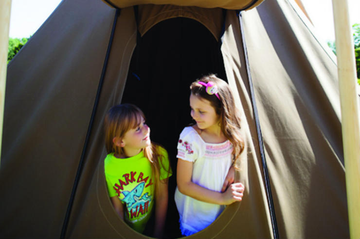 Client type: A family with one younger child looking for on-site children's facilities