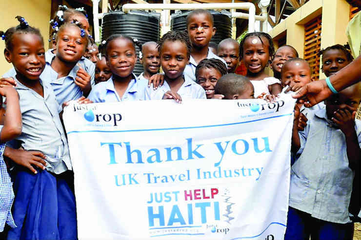 Good Business: Just a Drop's Haiti aid project
