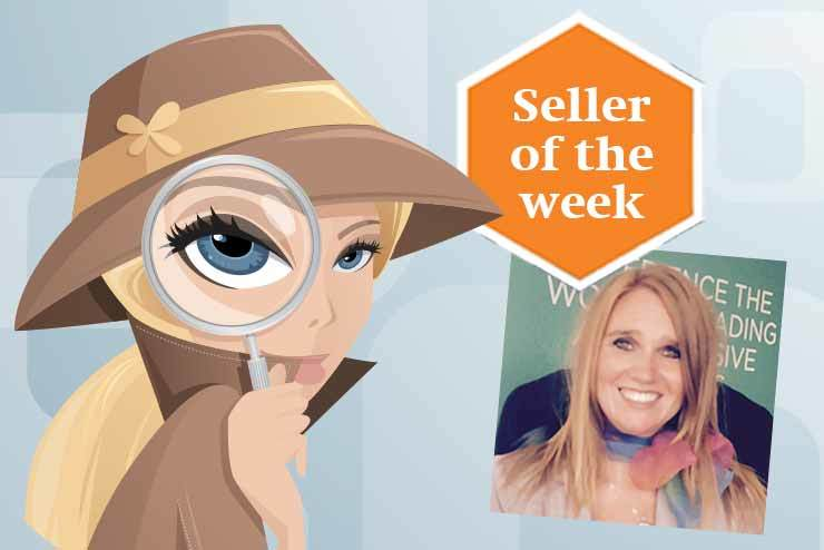 Jojo Mortimer - seller of the week