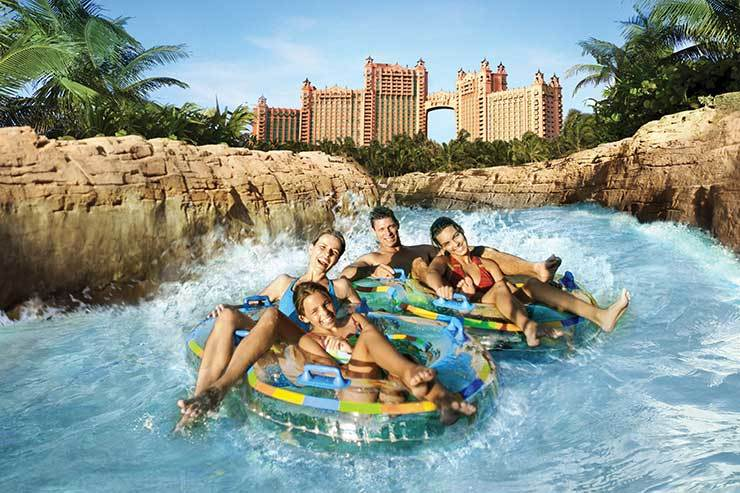 Atlantis family water park ride