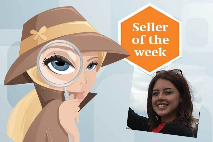 Hannah Taylor - seller of the week