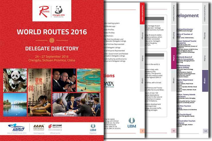 World Routes 2016 directory