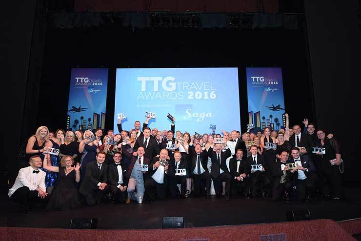 TTG Travel Awards 2016 group shot