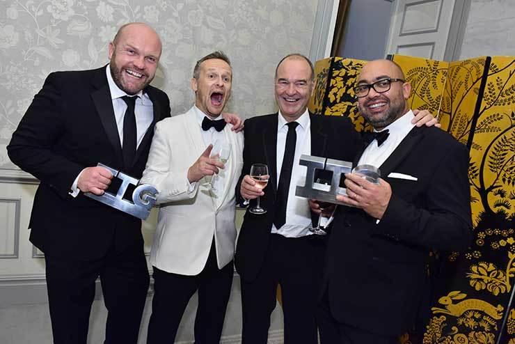 Awards night photos