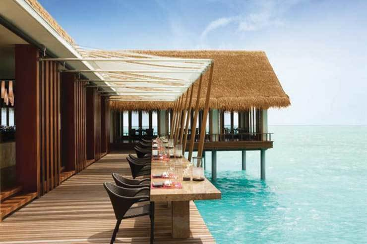 One&Only Reethi Rah over sea