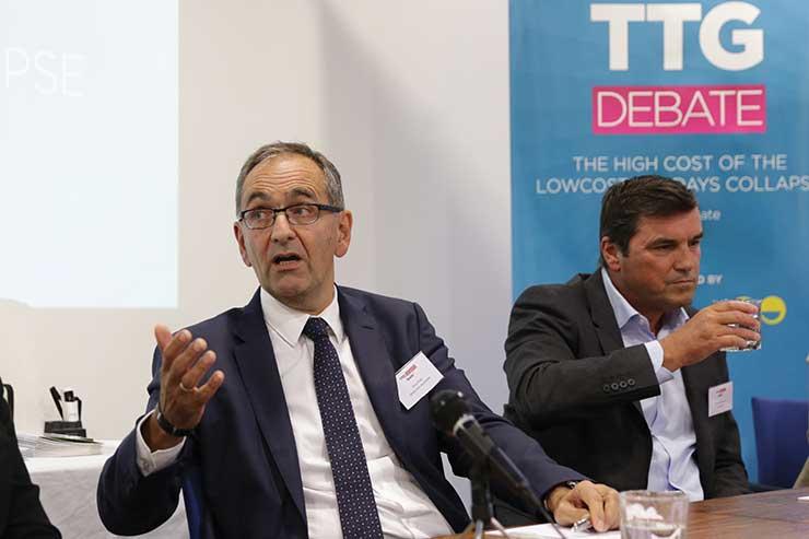 Chris Photi at the TTG Debate