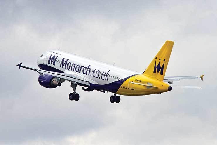 Trade rallies to help Monarch customers
